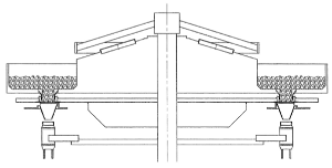 Rotary Solids Filler Cross Section