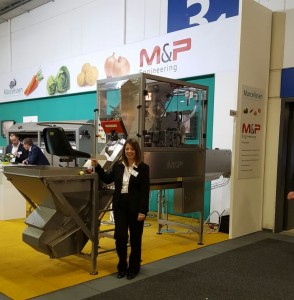 Pam at the Fruit Logistica