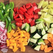 Vegetables Chopped