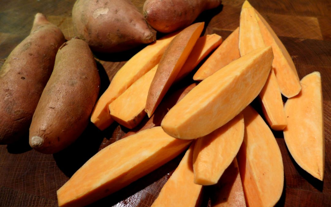 The health benefits of sweet potatoes
