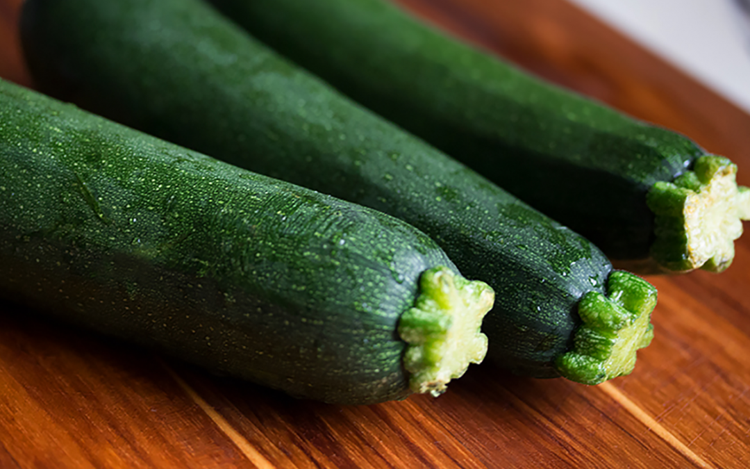 What are the health benefits of courgettes?