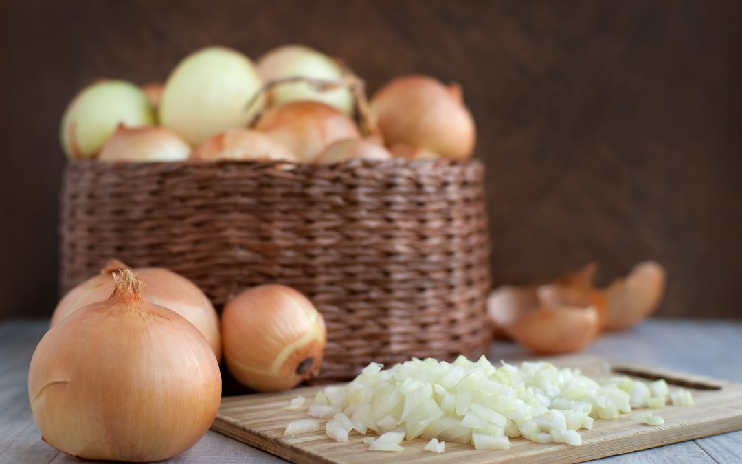 Looking for a healthier lifestyle? Make sure to eat onions!